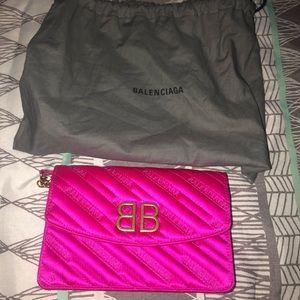 Balenciaga BB wallet chain bag